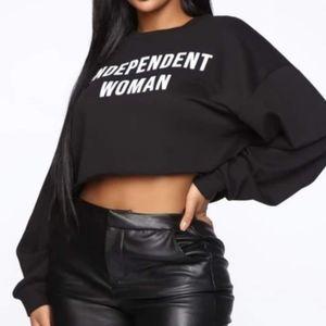 Fashion Nova Independent Women Crop Top